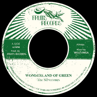 "The Silvertones - Wonderland of Green [7"" Vinyl] - Unearthed Sounds"