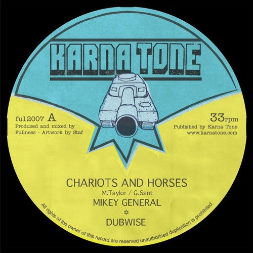 Mikey General - Chariots and Horses [Repress]