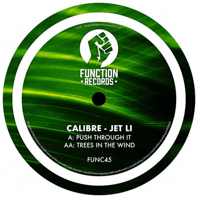 Calibre ft. Jet Li - Push Through It // Trees In The Wind - Unearthed Sounds