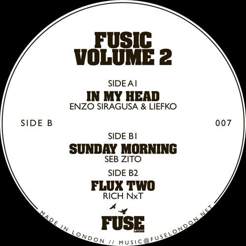 Various Artists - Fusic Volume 2 , vinyl - Fuse London, Unearthed Sounds