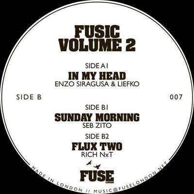 Various Artists - Fusic Volume 2 - Unearthed Sounds
