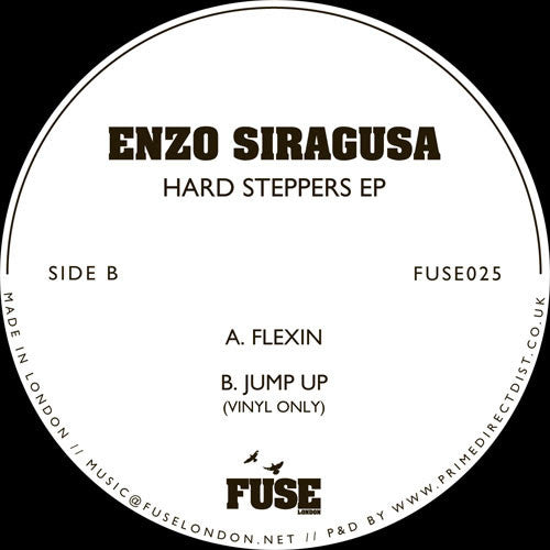 Enzo Siragusa - Hard Steppers EP , Vinyl - Fuse London, Unearthed Sounds