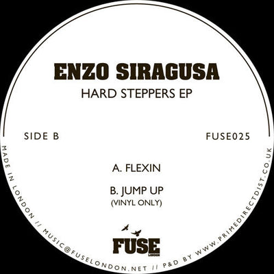 Enzo Siragusa - Hard Steppers EP - Unearthed Sounds