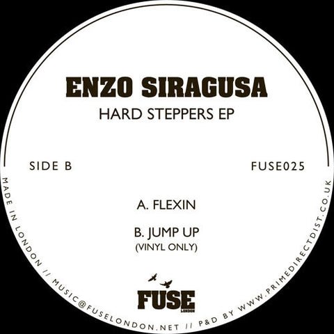 Enzo Siragusa - Hard Steppers EP