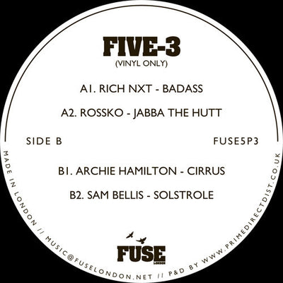 Various Artists - FIVE - 3 - Unearthed Sounds