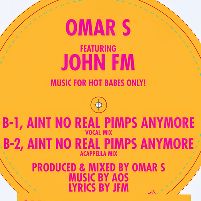 Omar S - Music For Hot Babes Only! - Unearthed Sounds