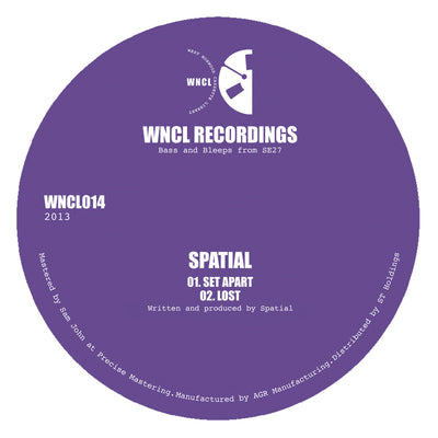 Spatial - Set Apart - Unearthed Sounds