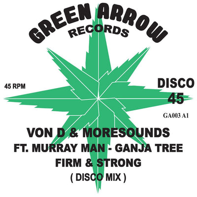 "Von D & Moresounds - Firm & Strong [10"" Vinyl] - Unearthed Sounds, Vinyl, Record Store, Vinyl Records"