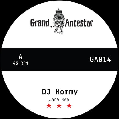 "Jane Bee / Bukkha - DJ Mommy [Hand-numbered 7"" Vinyl]"