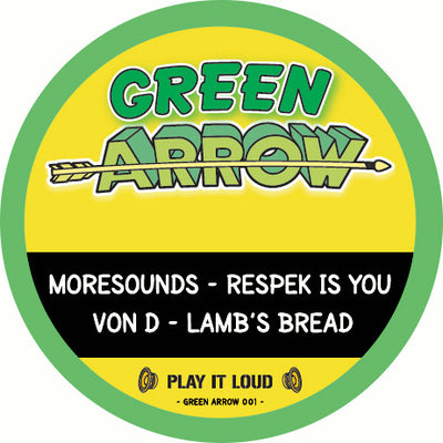 Moresounds & Von D - Respek Is You // Lamb's Bread - Unearthed Sounds, Vinyl, Record Store, Vinyl Records