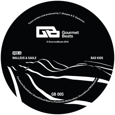 Malleus & Saule - Bad Kids EP , Vinyl - Gourmet Beats, Unearthed Sounds