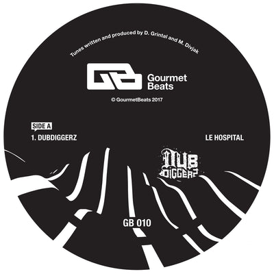 DubDiggerz - Le Hospital EP - Unearthed Sounds