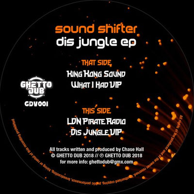 Sound Shifter - Dis Jungle EP - Unearthed Sounds