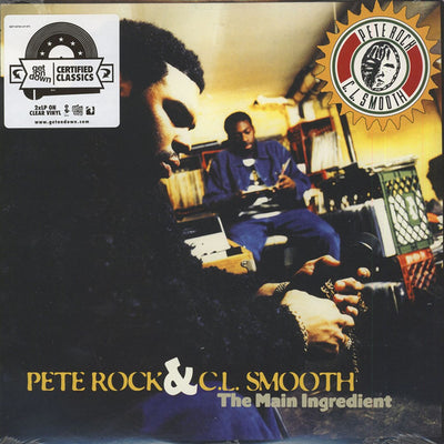 "Pete Rock & CL Smooth - The Main Ingredient [2 x Clear 12"" Vinyl LP] - Unearthed Sounds"