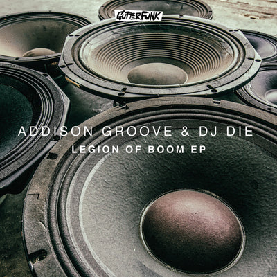 Addison Groove & DJ Die - Legion of Boom EP - Unearthed Sounds, Vinyl, Record Store, Vinyl Records