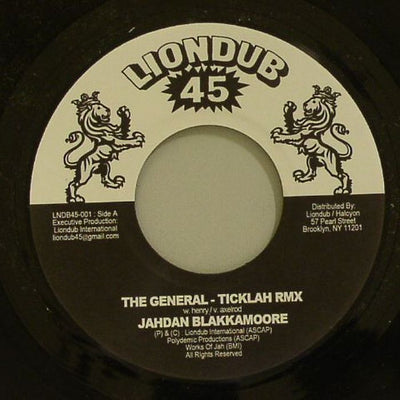 "Jahdan Blakkamoore / Ticklah Vs Victor Rice (7"") - Unearthed Sounds"