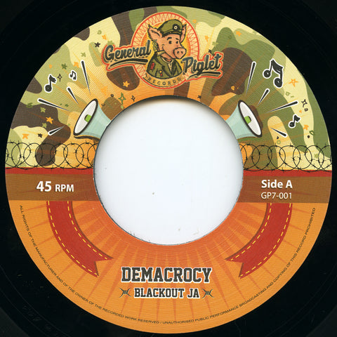 Blackout JA - Demacrocy // Dubsy - Demacrodub