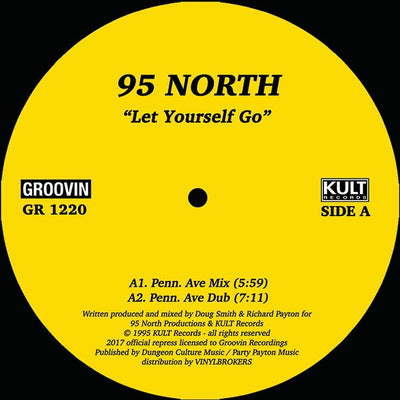 95 North - Let Yourself Go - Unearthed Sounds, Vinyl, Record Store, Vinyl Records
