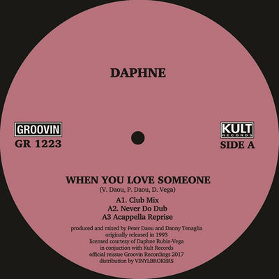 Daphne - When You Love Someone - Unearthed Sounds, Vinyl, Record Store, Vinyl Records