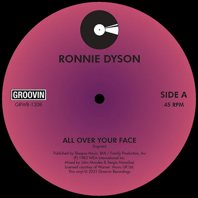 Ronnie Dyson - All Over Your Face - Unearthed Sounds