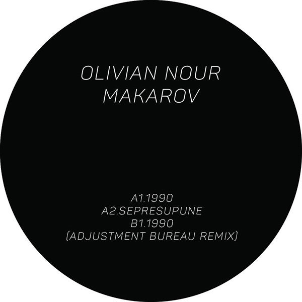 "Olivian Nour & Makarov - 1990 EP [180g 12"" Vinyl] - Unearthed Sounds"