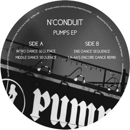 N'conduit - Pumps EP [w/ La-4a Remix] - Unearthed Sounds