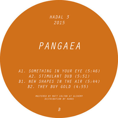Pangaea - New Shapes In The Air - Unearthed Sounds