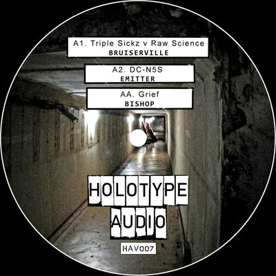 Holotype Audio presents the Bruiserville EP - Unearthed Sounds