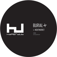 Burial - Young Death / Nightmarket [HDB100] , Vinyl - Hyperdub, Unearthed Sounds - 2