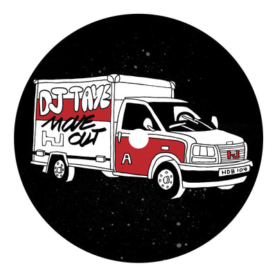 DJ Taye - Move Out EP , Vinyl - Hyperdub, Unearthed Sounds