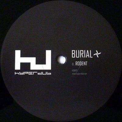 Burial ‎– Rodent - Unearthed Sounds, Vinyl, Record Store, Vinyl Records