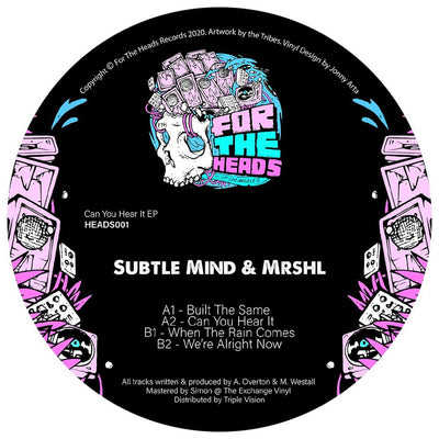 Subtle Mind & mrshl - Can You Hear It EP