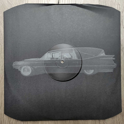Various Artists - HEARSE002 [screenprinted] - Unearthed Sounds, Vinyl, Record Store, Vinyl Records