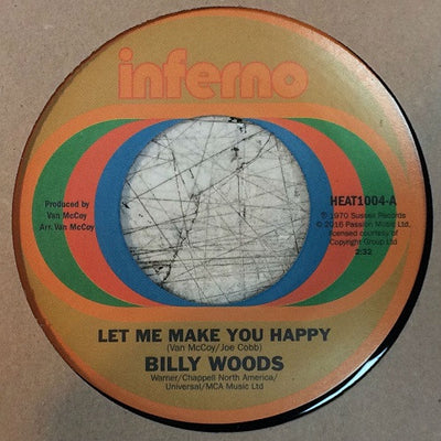 Billy Woods / The Decisions - Let Me Make You Happy , Vinyl - Inferno, Unearthed Sounds