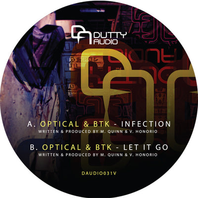 Optical & BTK - Infection - Unearthed Sounds, Vinyl, Record Store, Vinyl Records