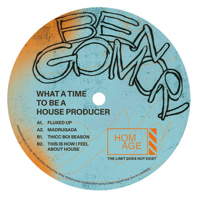 Ben Gomori - What a Time to Be a House Producer