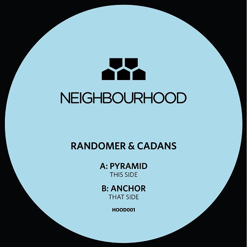 Randomer & Cadans - Pyramid , Vinyl - Neighbourhood, Unearthed Sounds