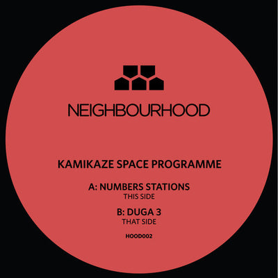 Kamikaze Space Programme - Numbers Stations/Duga 3 - Unearthed Sounds