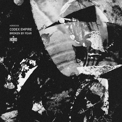 "Codex Empire - Broken By Fear [Marbled Vinyl 12"" with insert] - Unearthed Sounds"
