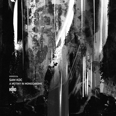 "Sam KDC - A Mutiny In Monochrome [marbled 12"" vinyl w/ insert] - Unearthed Sounds"