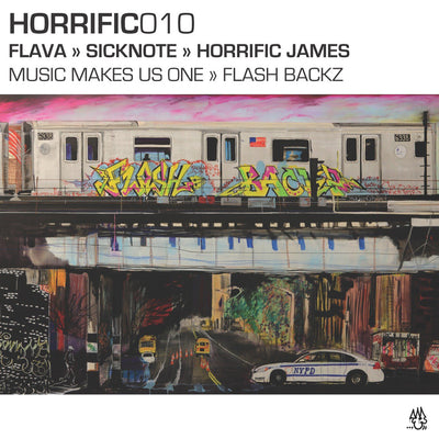 Flava, Sicknote & Horrific James - Music Makes Us One / Flash Backz - Unearthed Sounds