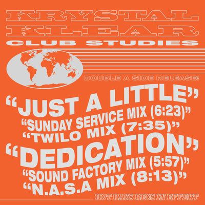 Krystal Klear - Club Studies - Unearthed Sounds