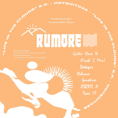 Rumore - Life in the Cloud EP - Unearthed Sounds