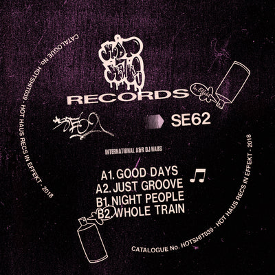 SE62 - Good Days EP - Unearthed Sounds