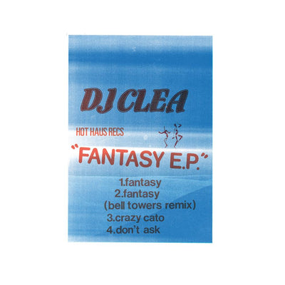 DJ Clea - Fantasy EP - Unearthed Sounds