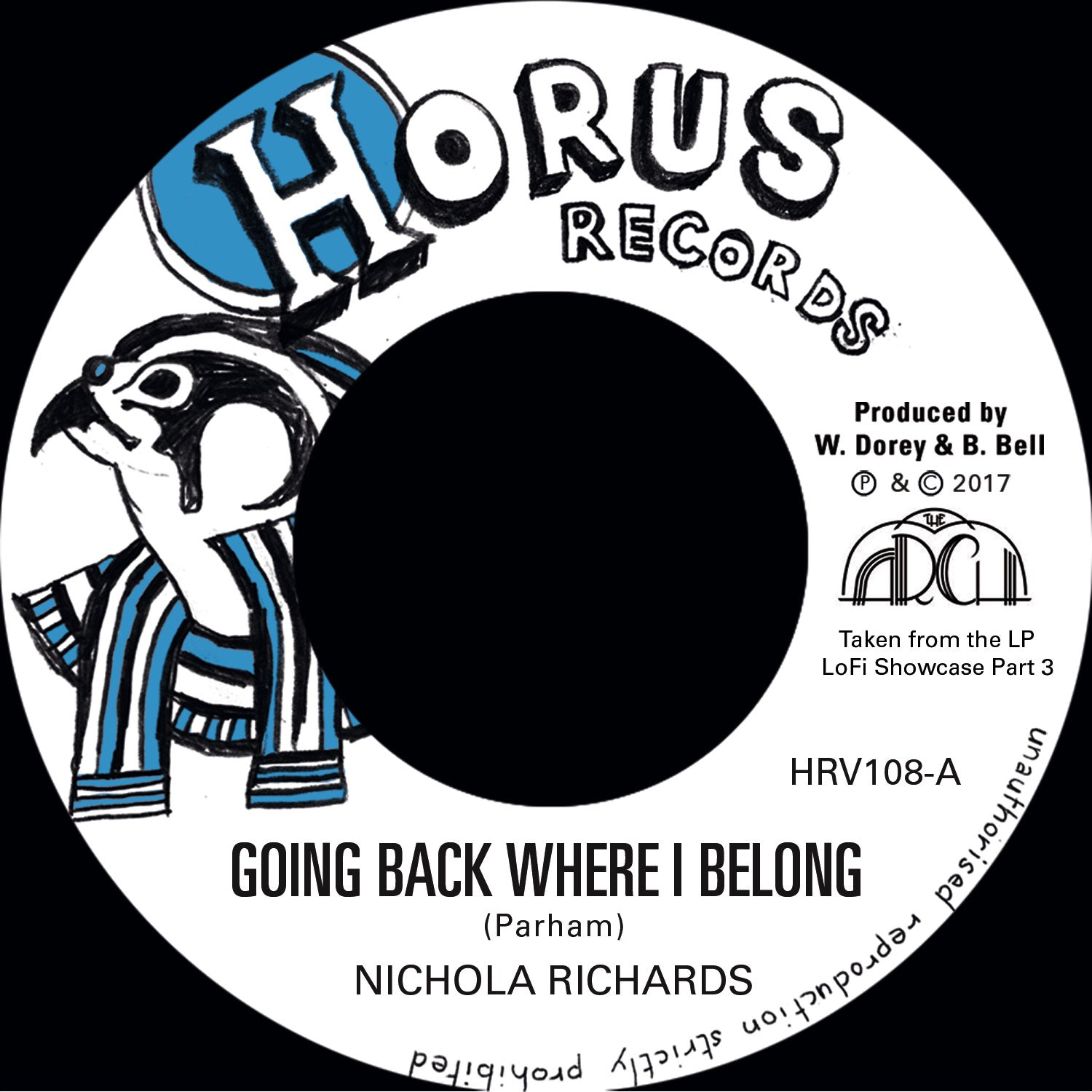 "Nichola Richards - Going Back Where I Belong / Version [7""]"