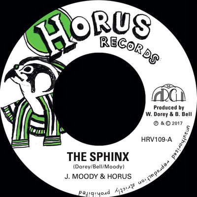 "J MOODY & HORUS - The Sphinx [7""] - Unearthed Sounds"