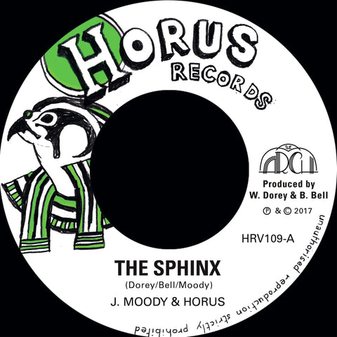 "J MOODY & HORUS - The Sphinx [7""]"