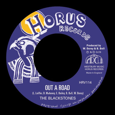 "The Blackstones - Out a Road [7"" Vinyl] - Unearthed Sounds"