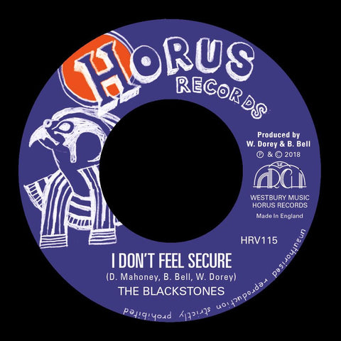 "The Blackstones - I Don't Feel Secure [7"" Vinyl]"